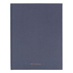 Monograph Ruled Muistiinpanokirja 96 Sivut Harmaa