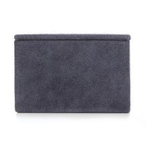 Nordstjerne Suede Box Laatikko Small Stone Grey