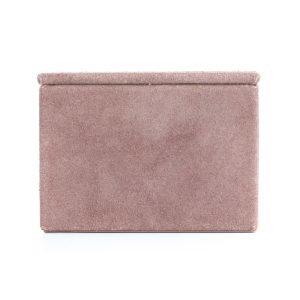 Nordstjerne Suede Box Laatikko Small Vaaleanpunainen