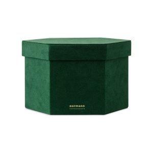 Normann Copenhagen Velour Box Laatikko L Tummanvihreä