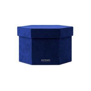 Normann Copenhagen Velour Box Laatikko M Sininen