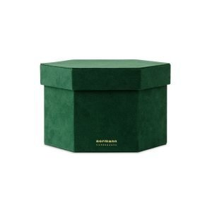 Normann Copenhagen Velour Box Laatikko M Tummanvihreä