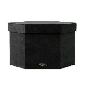 Normann Copenhagen Velour Box Laatikko Xl Musta