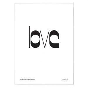 Olle Eksell Love Juliste 50x70 Cm