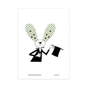 Olle Eksell Rabbit Juliste 50x70 Cm