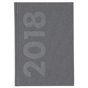 Ordning & Reda Libro Kalenteri 2018 A6 Tummanharmaa