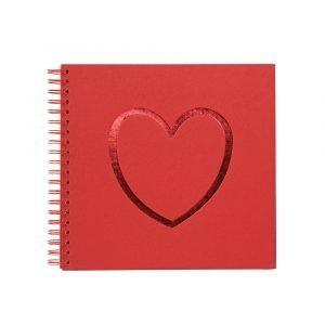 Ordning & Reda O & R Love Valokuva Albumi Punainen 33x32 Cm