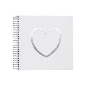 Ordning & Reda O & R Love Valokuva Albumi Valkoinen 27x26 Cm