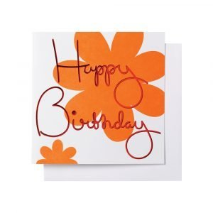 Ordning & Reda O & R Onnittelukortti Syntymäpäivä 14