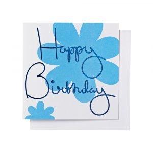 Ordning & Reda O & R Onnittelukortti Syntymäpäivä Sininen 14