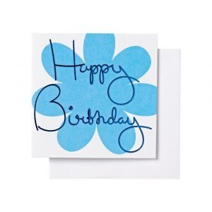 Ordning & Reda O & R Onnittelukortti Syntymäpäivä Sininen 7