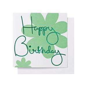 Ordning & Reda O & R Onnittelukortti Syntymäpäivä Vihreä 14
