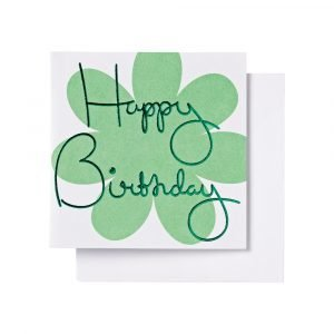 Ordning & Reda O & R Onnittelukortti Syntymäpäivä Vihreä 7