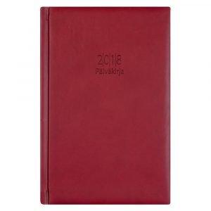 Päiväkirja 2018 Punainen