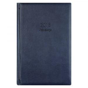 Päiväkirja 2018 Tummansininen