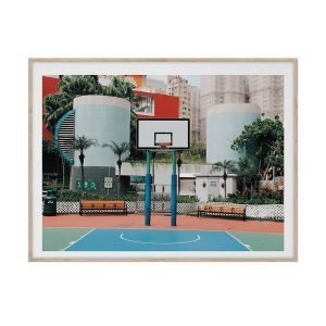 Paper Collective Cities Of Basketball 04 Juliste 30x40 Cm