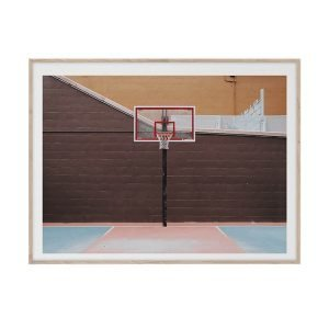 Paper Collective Cities Of Basketball 07 Juliste 30x40 Cm