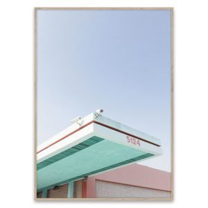 Paper Collective Los Angeles Is Pink Poster Juliste 40x30 Cm