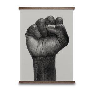 Paper Collective Raised Fist Juliste 50x70 Cm