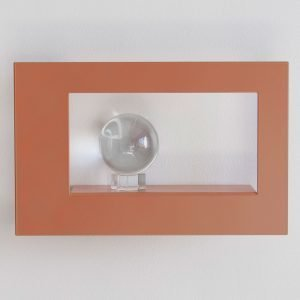 Scandinavian Design Factory Frame Wide Taulunkehys Dusty Pink 21x34 Cm
