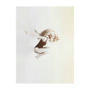 Selected By Walnutstreet Ballerina On White Juliste 50x70 Cm