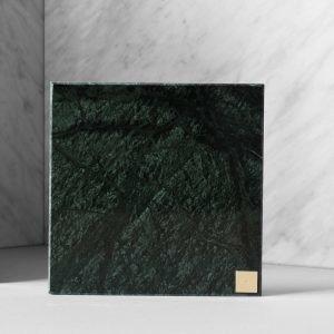 Skultuna Plus Alusta Vihreä Marmori 15x15 Cm