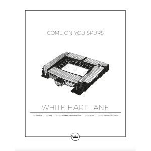 Sverigemotiv White Hart Lane London Poster Juliste 50x70 Cm